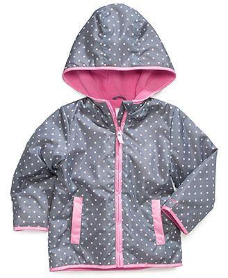 Carter's Kids Coat, Little Girls or Toddler Girls Fleece-Lined ...