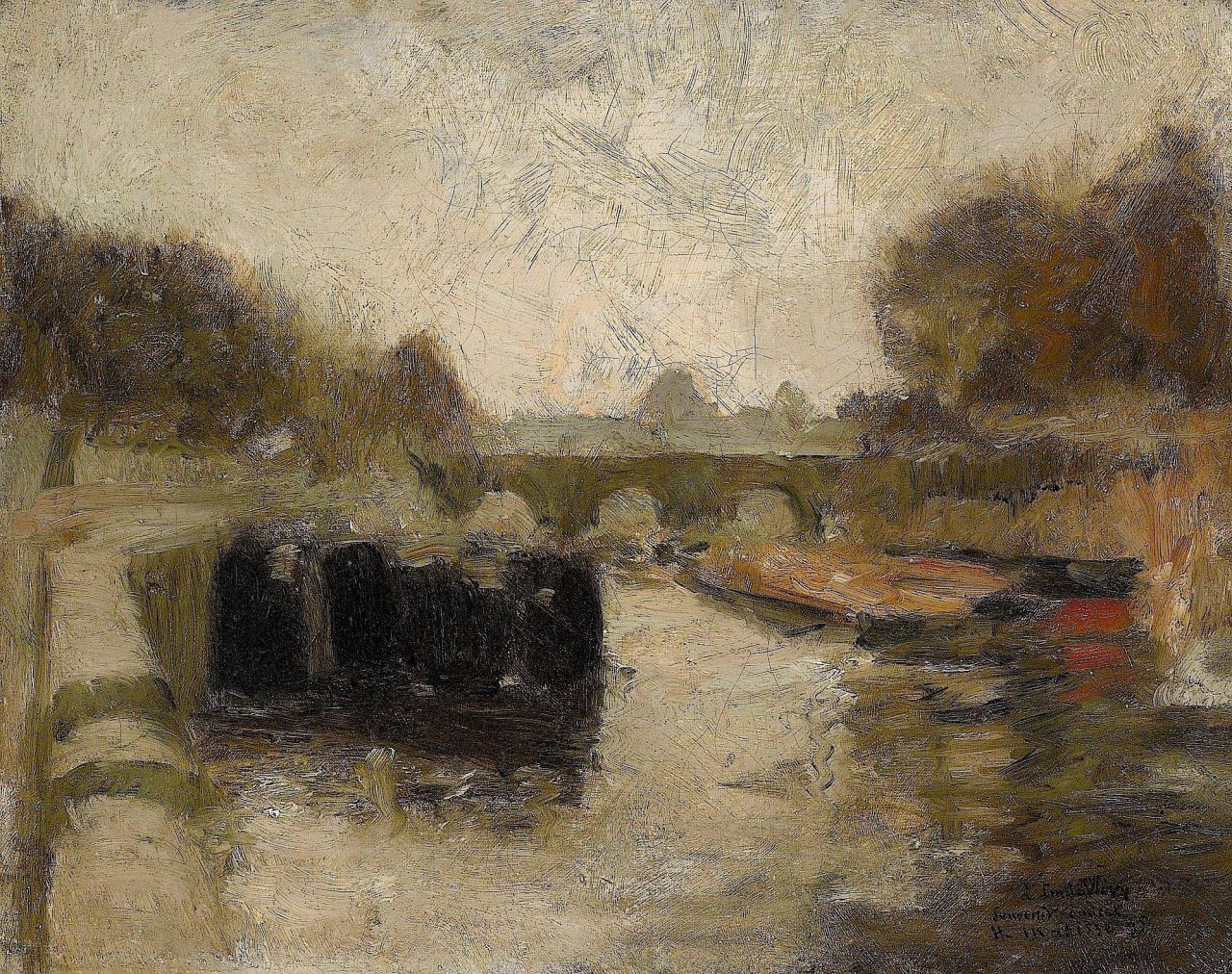 Henri Matisse - The Bridge - 1895