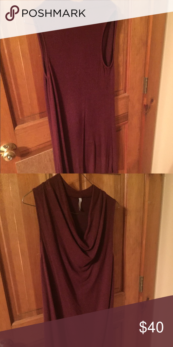 Z Supply XS cowl next dress Cute float cowl next dress.  Goes great with leggings, above the knee Dresses Mini
