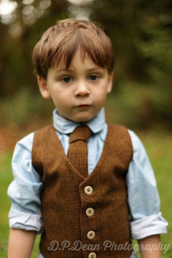 Boys Vest And Tie Toddler Infant Boy Outfit Baby