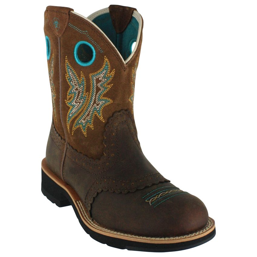 29bf233718f18 Now that we are transplanted southerners... Ariat Women's Fatbaby Cowgirl  Western Boots