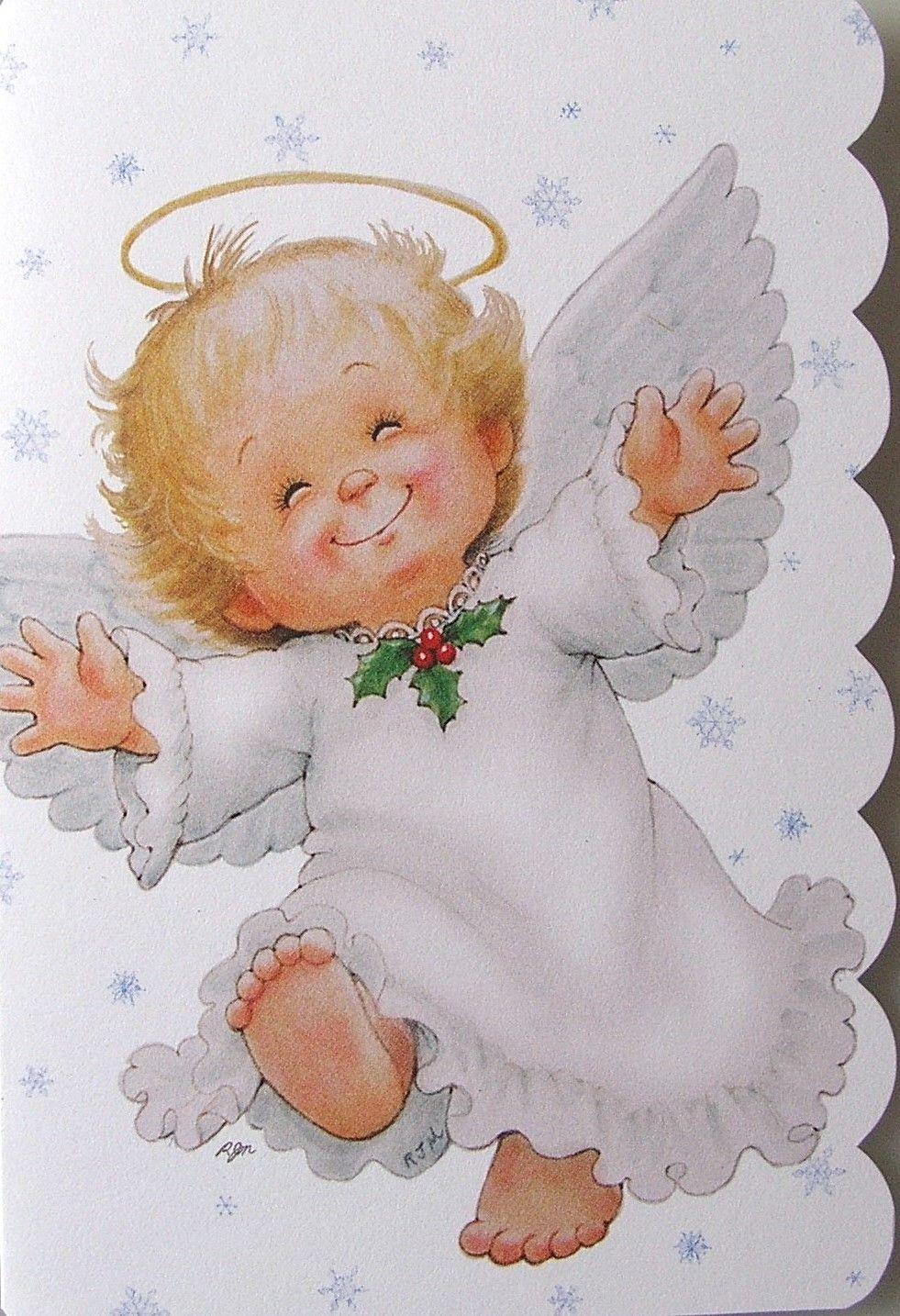этого картинки рождественских ангелов с крыльями нас