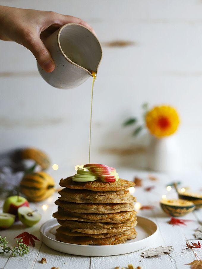 Hearty Harvest Delicata Pancakes Vegan