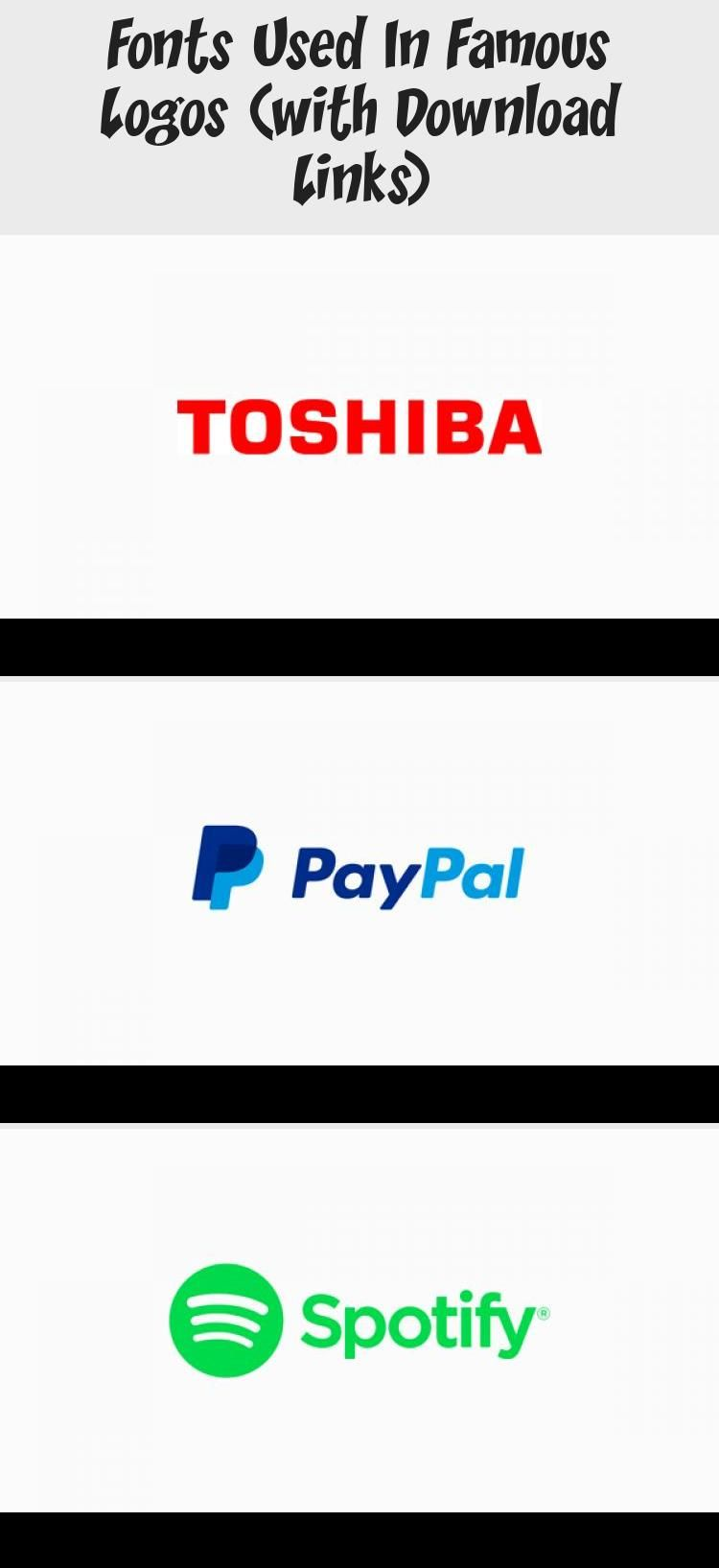 Fonts Used In Famous Logos With Download Links In 2020 Famous Logos Company Logo Company Logo Wall