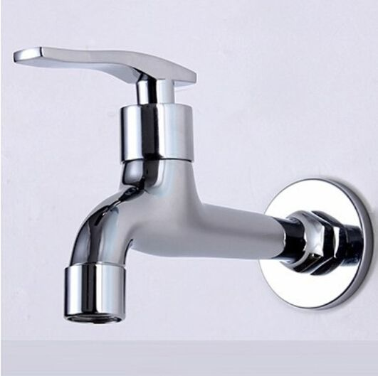chrome plating single lever cold bathroom basin faucet washing ...