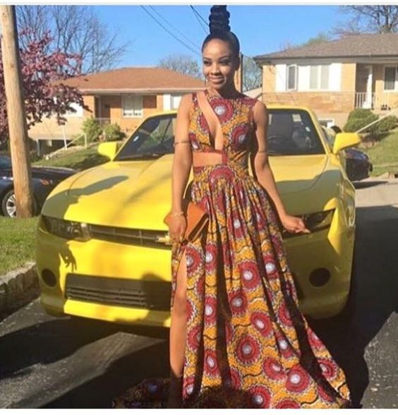 Long African Dresses You Need To Rock This Month #afrikanischekleider