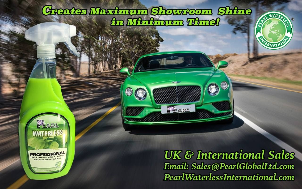 On the road with glorious Green . . . Pearl® Professional