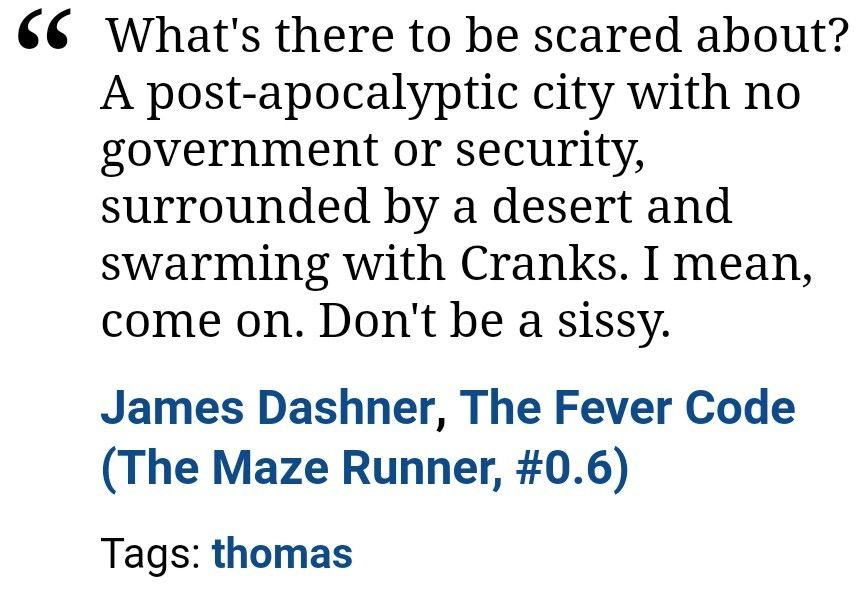 James Dashner, The Fever Code