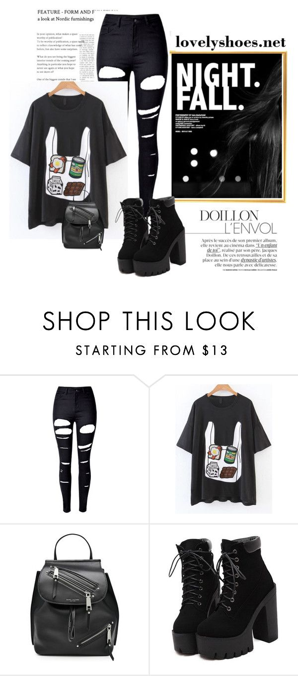 """Bez naslova #18"" by neiracilovic-i ❤ liked on Polyvore featuring WithChic and Marc Jacobs"