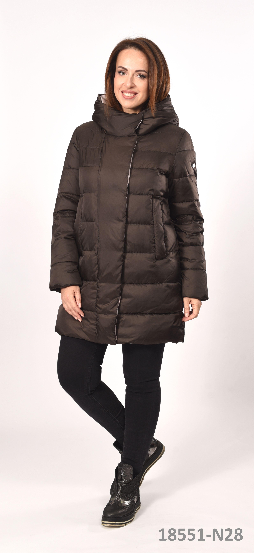 Модная женская куртка Высокое качество Био пух Женские