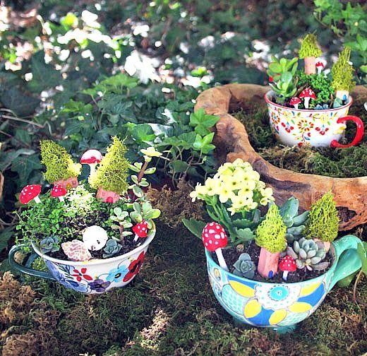 39 Pretty Small Garden Ideas: DIY Miniature Garden Projects