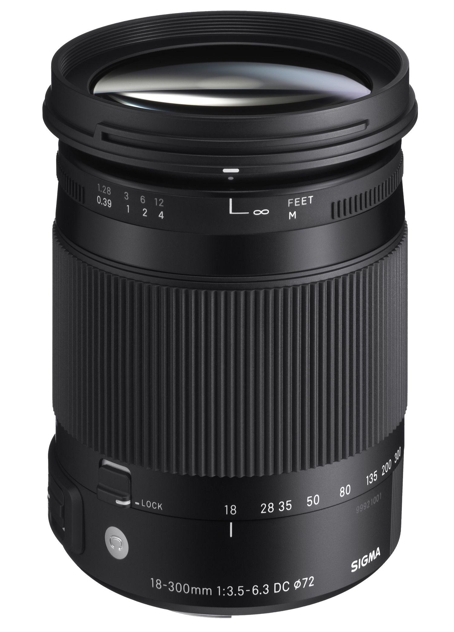 18 300mm F3 5 6 3 Dc Macro Os Hsm C Digital Camera Lens Macro Lens Zoom Lens