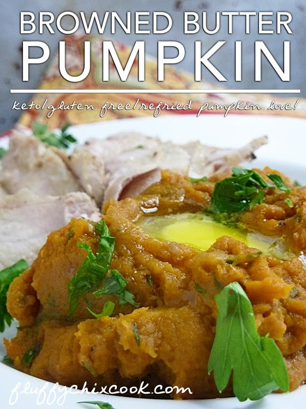 Pumpkin in Browned Butter Recipe. Low carb LCHF Keto ...