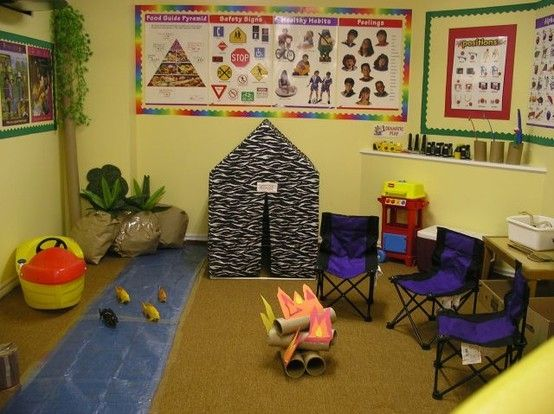 Camping Classroom Decoration : Camping decorations for the classroom camping theme set up by