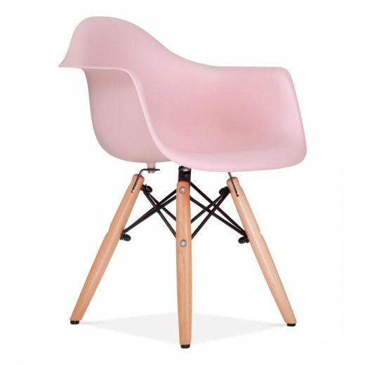 Esszimmerstühle designermöbel  Charles Eames Style DAW Kids Stuhl Altrosa | Esszimmerstühle ...
