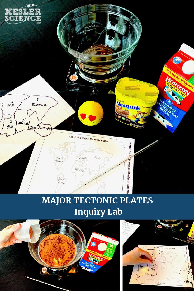 Major Tectonic Plates Inquiry Lab Kesler Science Plate Tectonics Tectonic Plates Activities Plate Tectonics Middle School [ 1102 x 735 Pixel ]