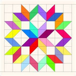 carpenter's star quilt pattern