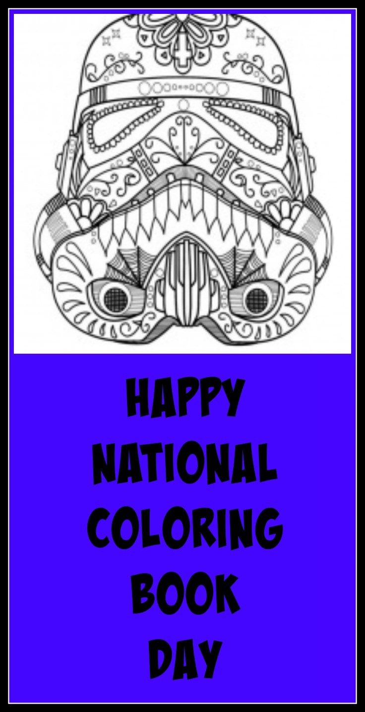 National Coloring Book Day August 2