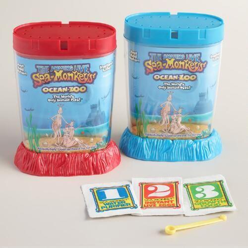 Sea Monkeys Ocean Zoo Kit Sea Monkeys
