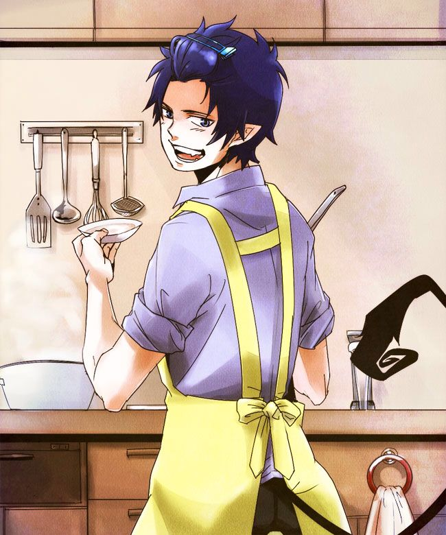 Reasons Why Rin Is Perfect He Can Cook Blue Exorcist Anime Smile Ao No Exorcist Rin okumura the yuri king's best boards. blue exorcist anime smile ao no exorcist