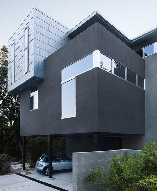 Modern Home Design Ideas Gray: 20 Modern And Contemporary Cube-Shaped Houses
