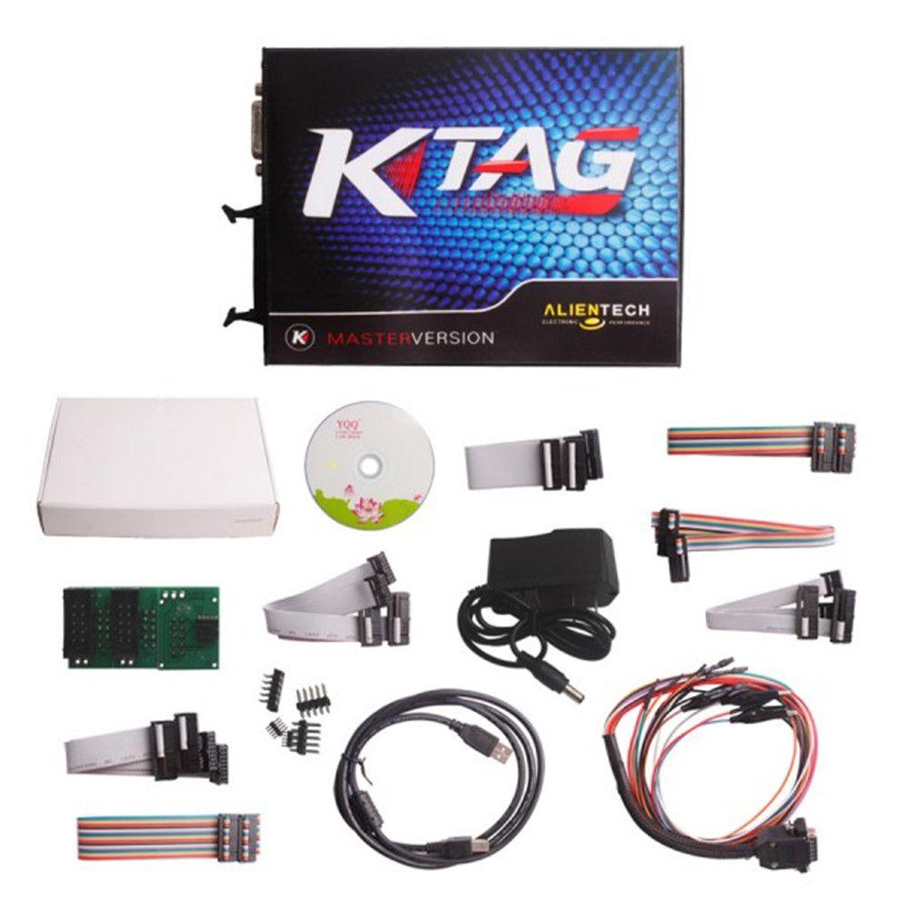 Ktag ECU Programmer V2.11 FW V6.070 K TAG ECU Programming
