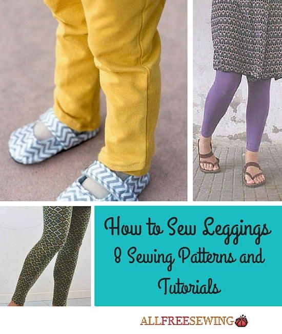 How to Sew Leggings: 8 Sewing Patterns and Tutorials | Sewing ...