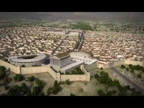 Templo De Artemisa Gerasa 3d X2f Temple Of Artemis Jerash Youtube Gerasa Roma Romanos