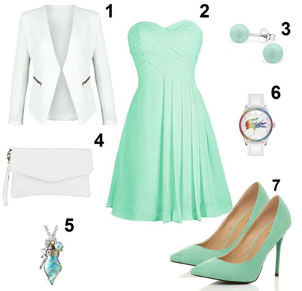 Mintgrünes Kleid kombinieren - FliXbi  Mintgrünes kleid, Modestil