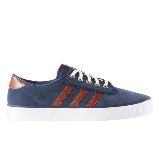 adidas bleu et marron