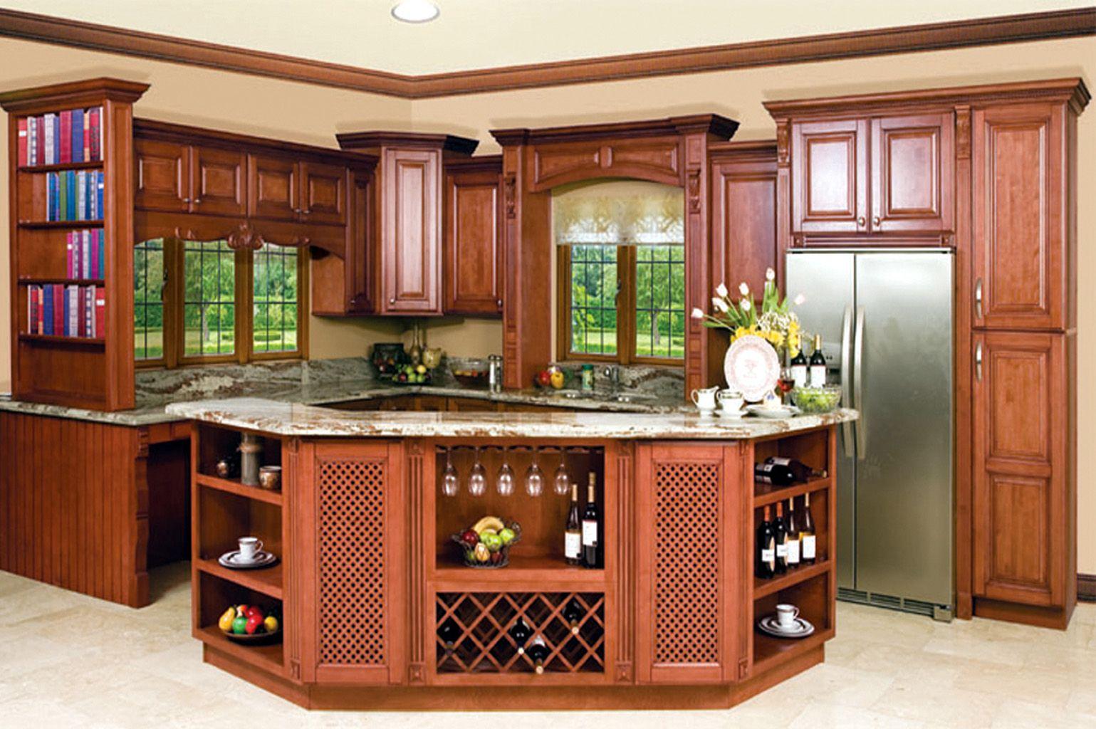 North America Maple Mocha Glaze Color Kitchen Cabinets ...
