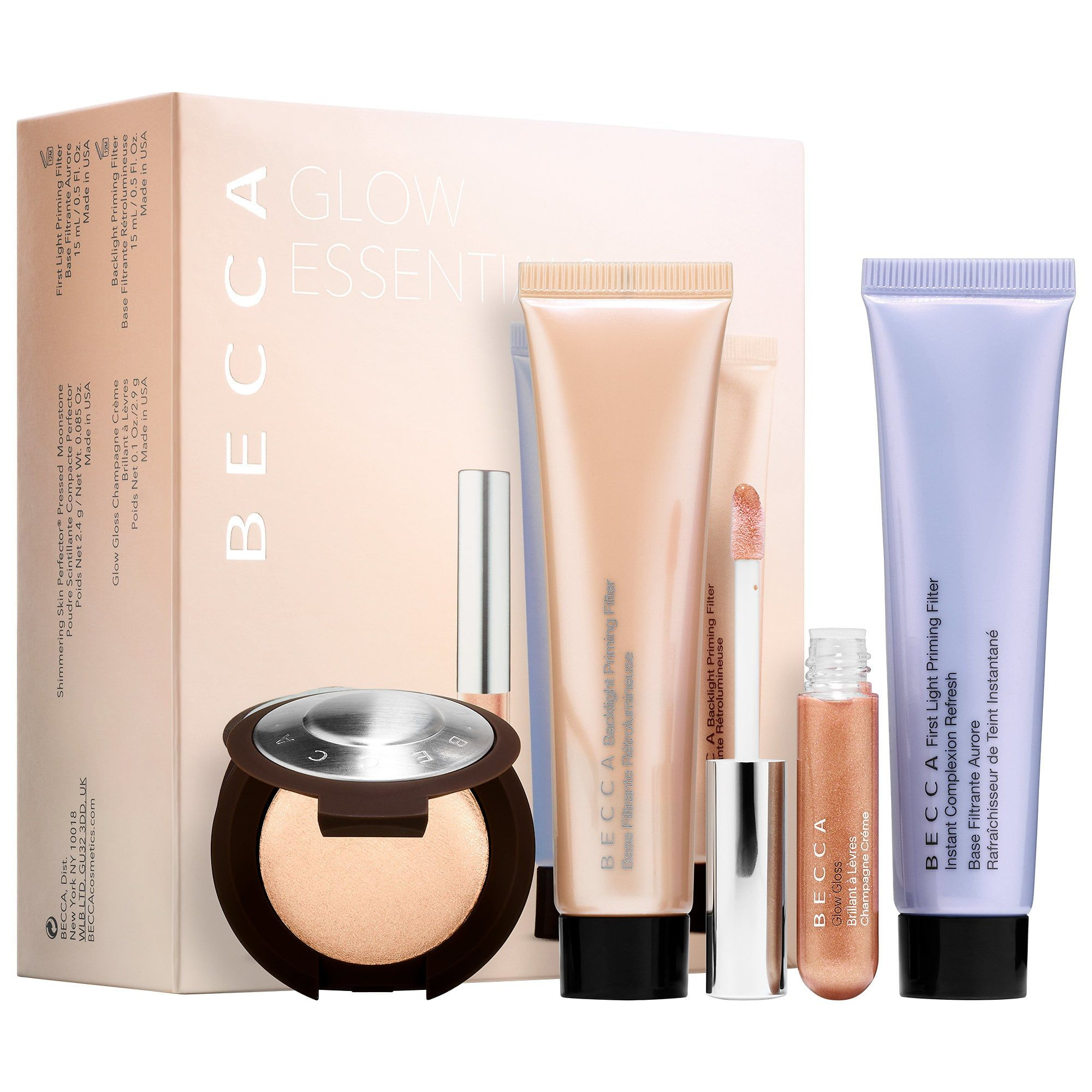 BECCA Glow Essentials Kit Sephora, Becca, The balm