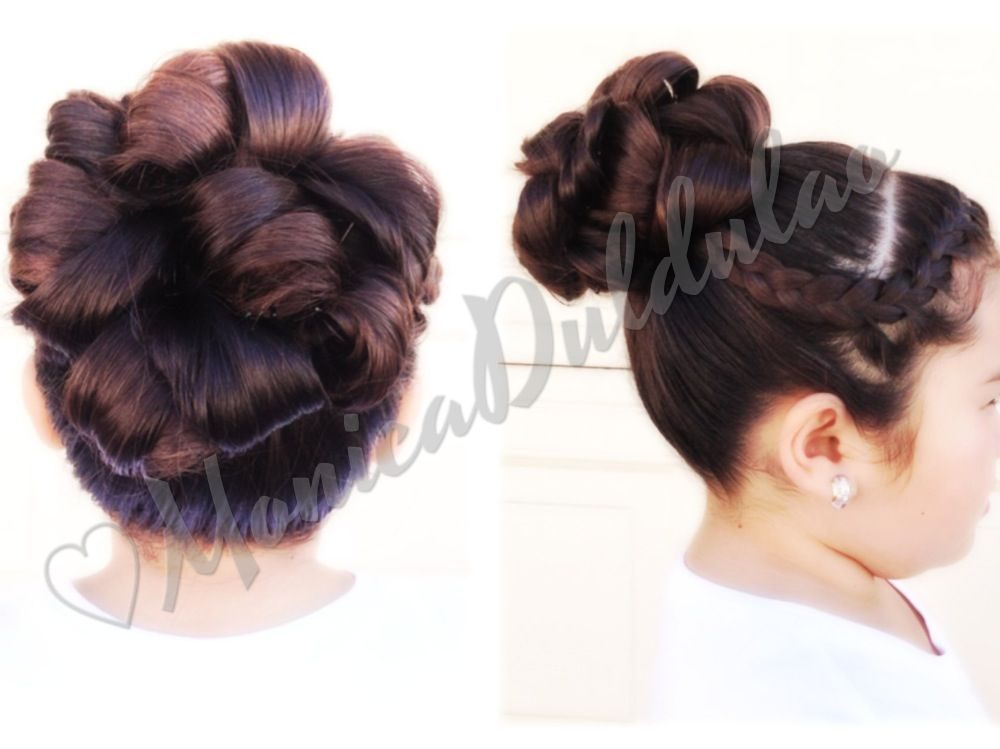 Fun hair-do for both women and kids :) love it