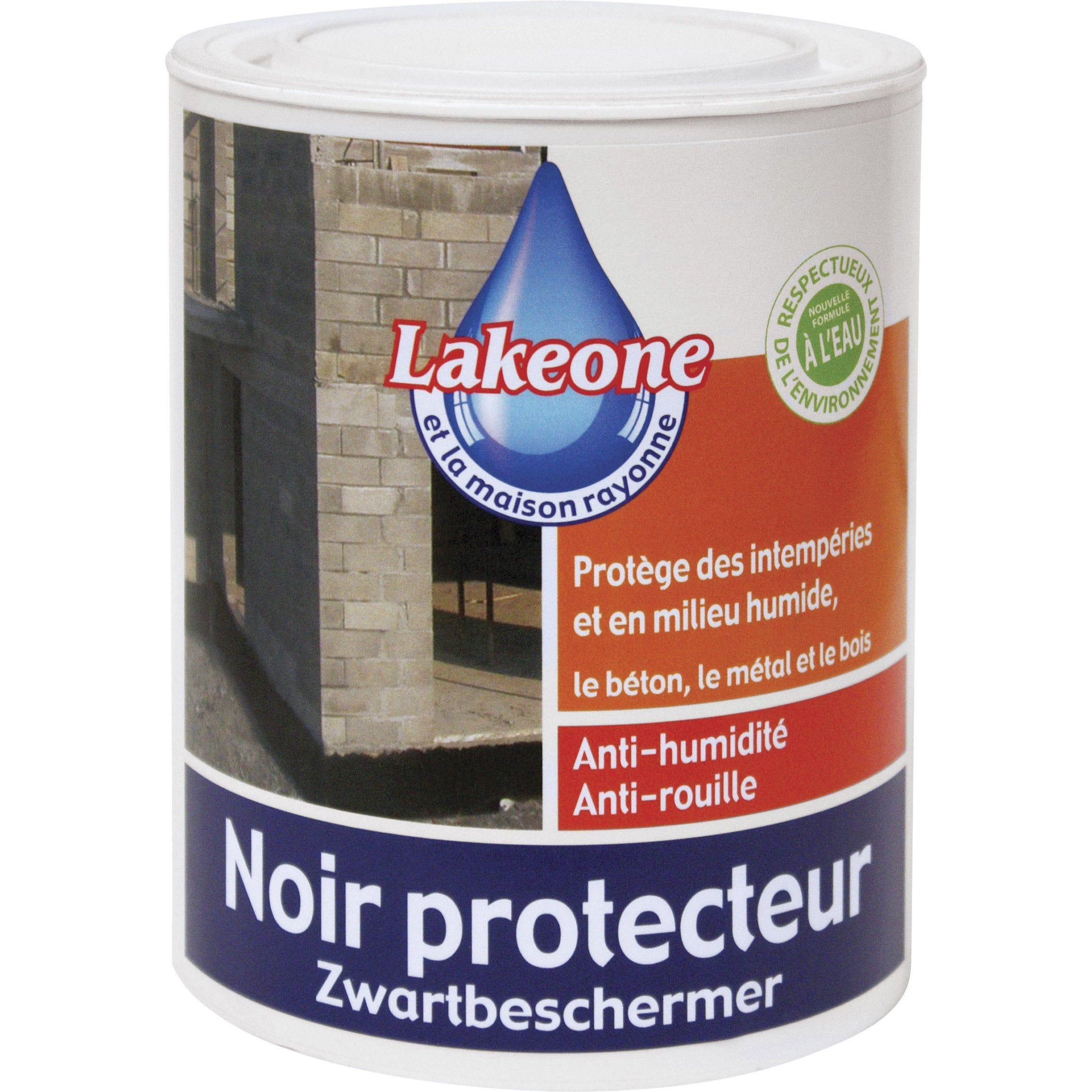 Revetement D Etancheite Noir Protecteur Lakeone Noir 1 L Etancheite Revetement Noir