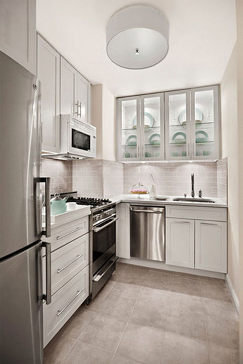 57 Beautiful Small Kitchen Ideas Pictures Small Modern Kitchens Kitchen Design Modern Small Modern Kitchen Design