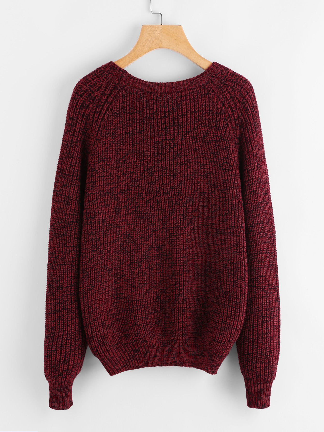 42858107c588 Material  10% Acrylic Color  Burgundy Pattern Type  Plain Neckline  Round  Neck Style  Casual