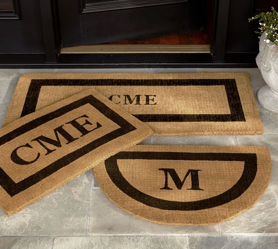 Personalized Front Door Mats Front Door Mats