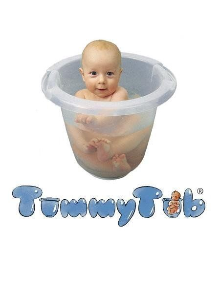 Tummy tub baby bath, Award Winning, helps with colic, upright ...