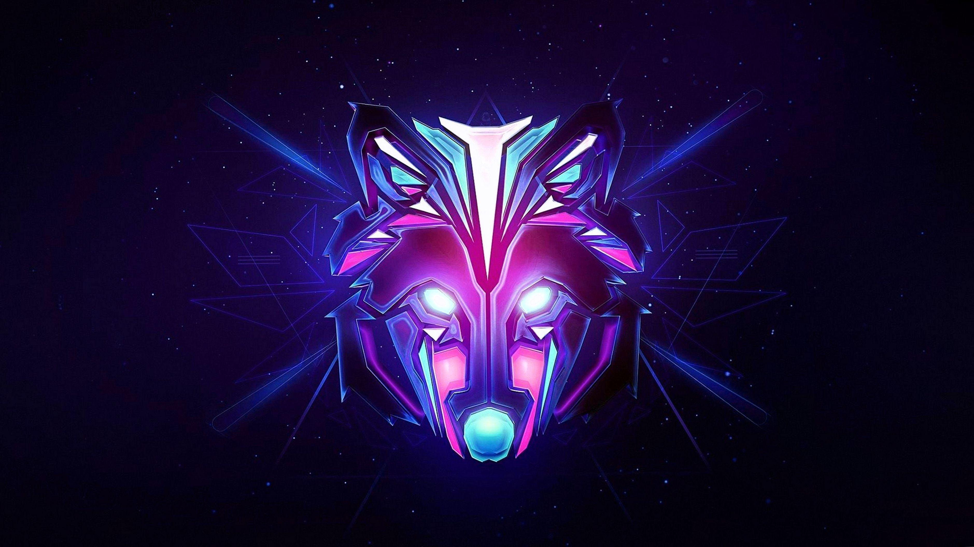Wolf Gaming Wallpapers | Desain