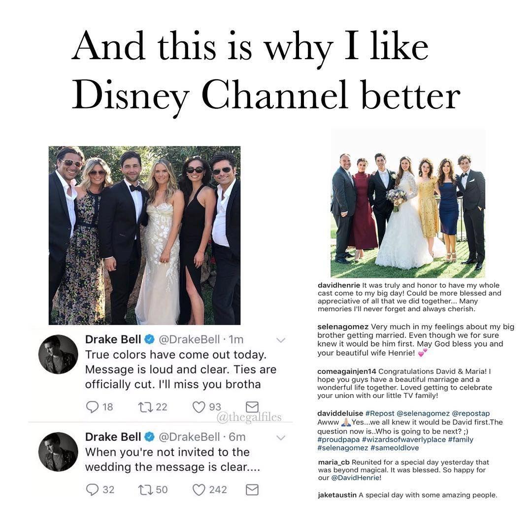 Drake Bell Wedding.19 Hilarious Memes About The Drake And Josh Wedding Drama Funny