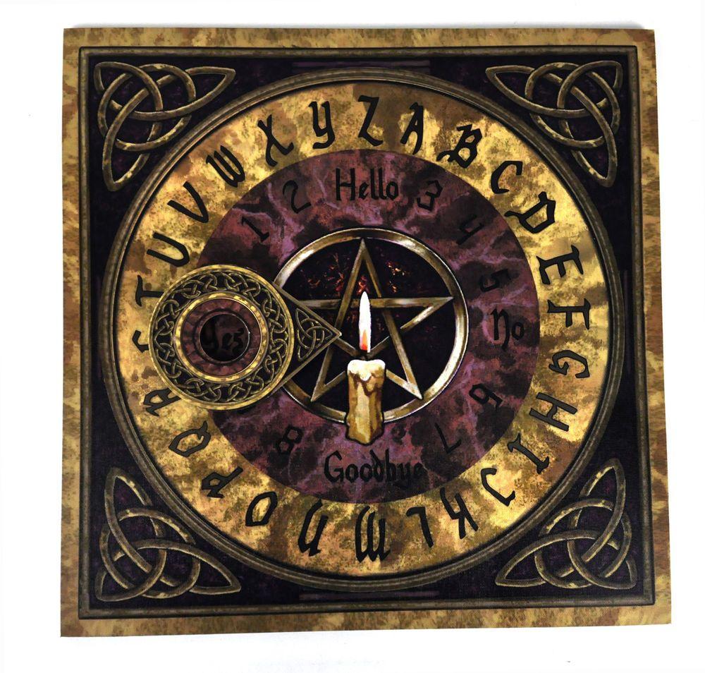 Pentagram spirit board 36cm 14 ouija board and pointer ouija pentagram spirit board 36cm 14 ouija board and pointer buycottarizona Gallery
