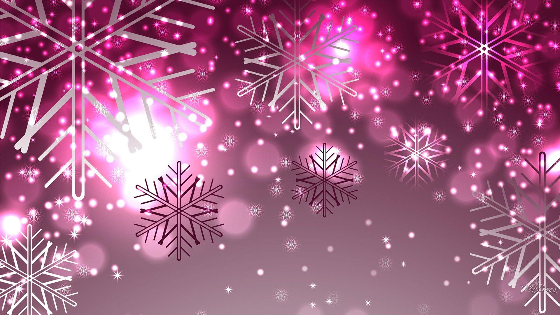 Winter Pink Wallpaper iphone christmas, Glitter
