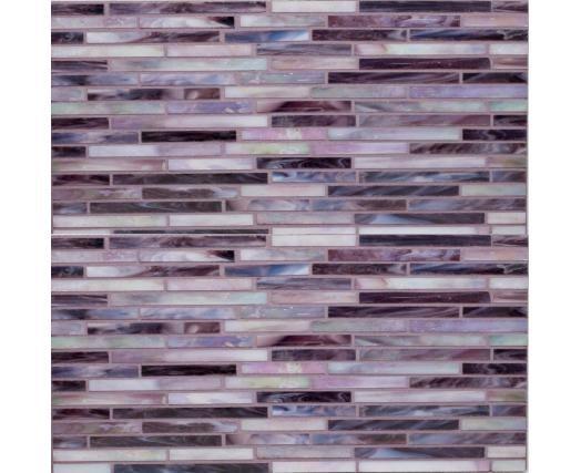 glass mosaic tiles glass tile backsplash wall tiles purple glass
