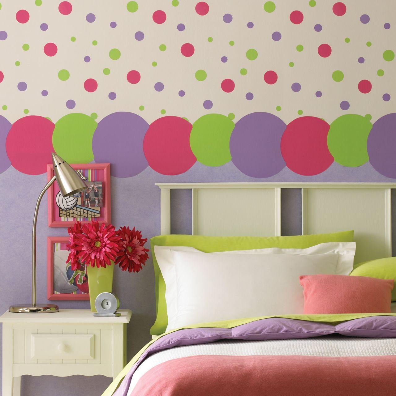 Brewster Home Fashions Kidding Around Polka Dot Wall