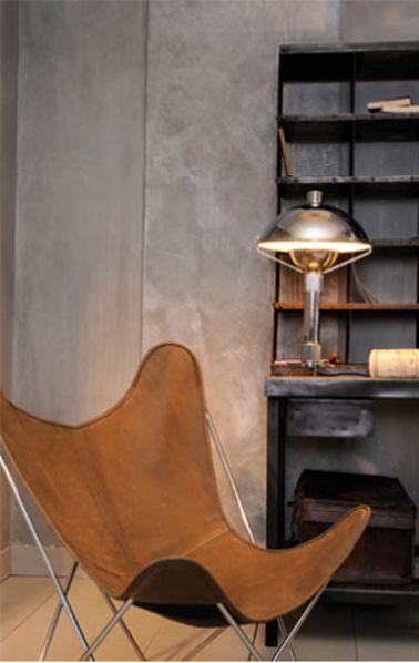 Peinture à Effet - 10 Ambiances déco pour trouver son style Salons - peinture beton cire mur