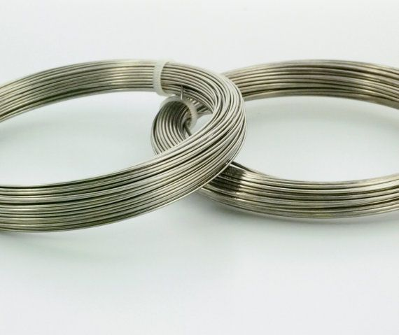 Spring Hard Stainless Steel Wire Premium Jewelry Grade Etsy Stainless Steel Wire Jewelry Wire