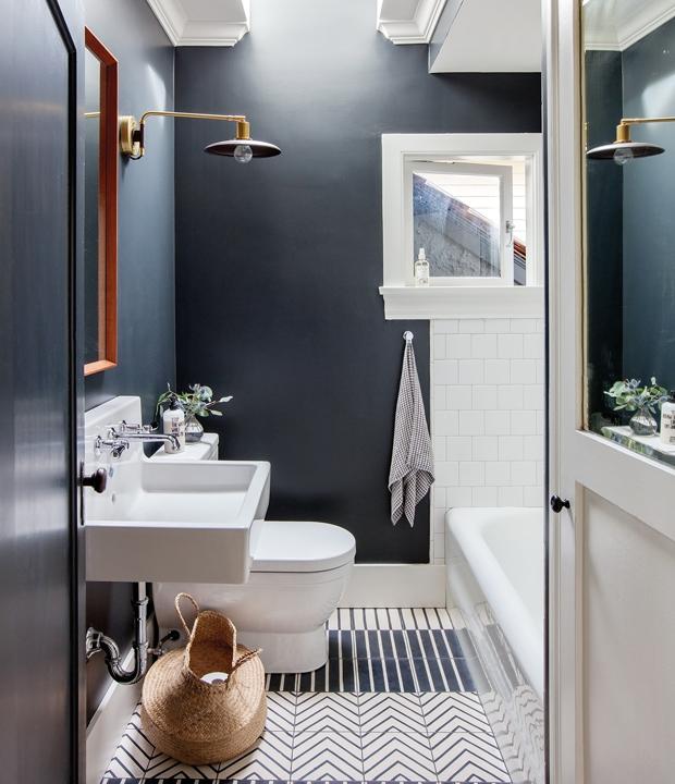 30 pi ces qui prouvent que la peinture noire ne fait pas peur accents noirs peinture noire. Black Bedroom Furniture Sets. Home Design Ideas