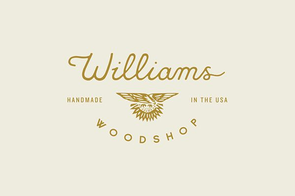 Williams Woodshop on Branding Served