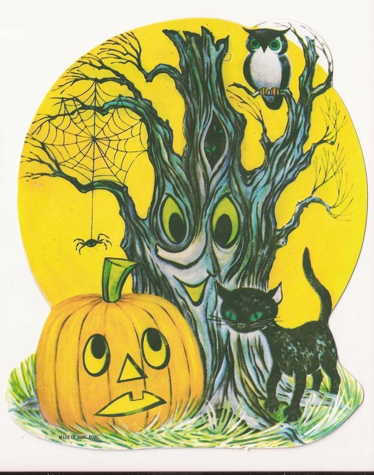 Vintage Halloween decor A Merry Halloween Pinterest Vintage - vintage halloween decorations