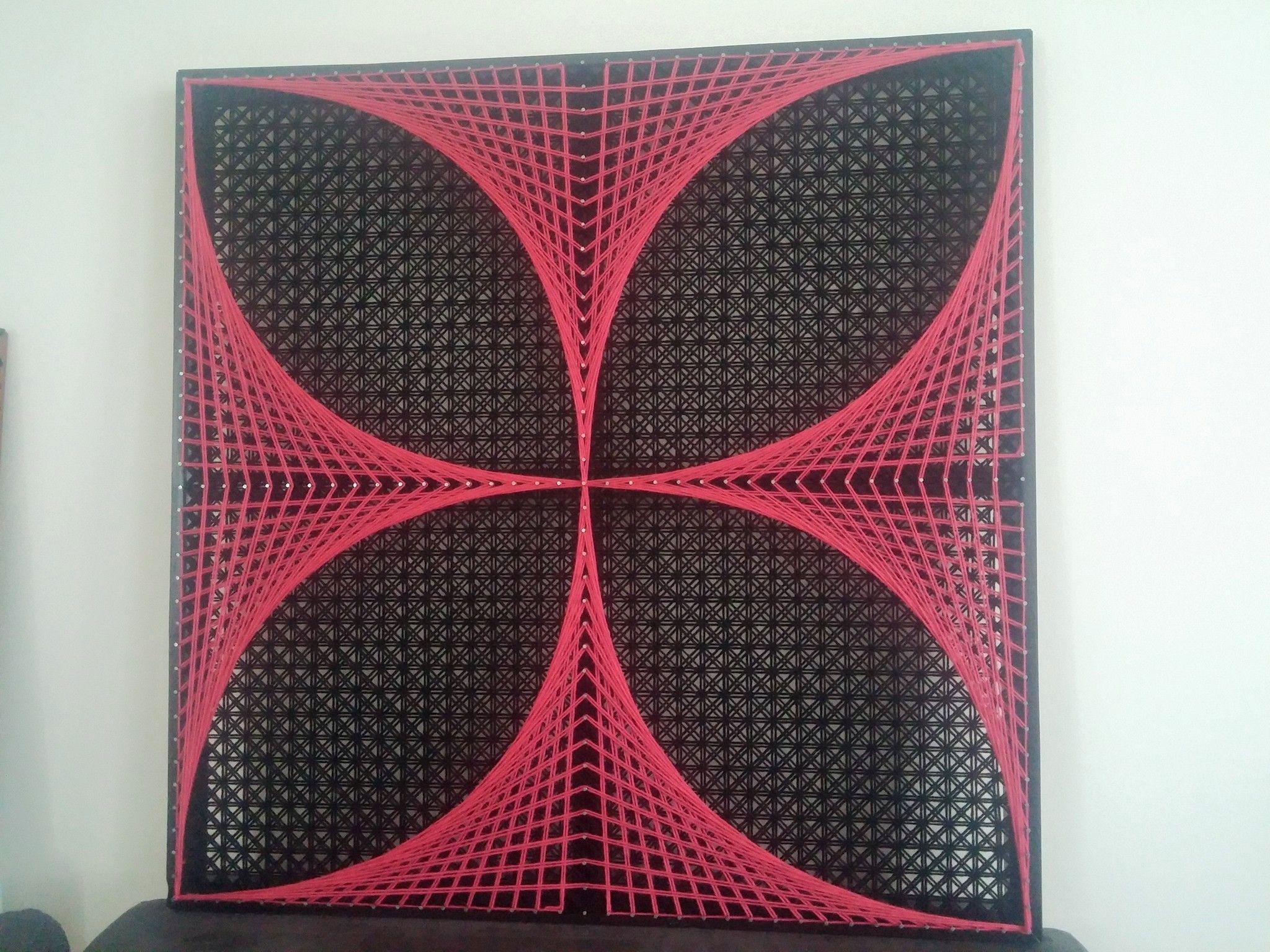 Beautiful Geometric String Art Patterns Check out